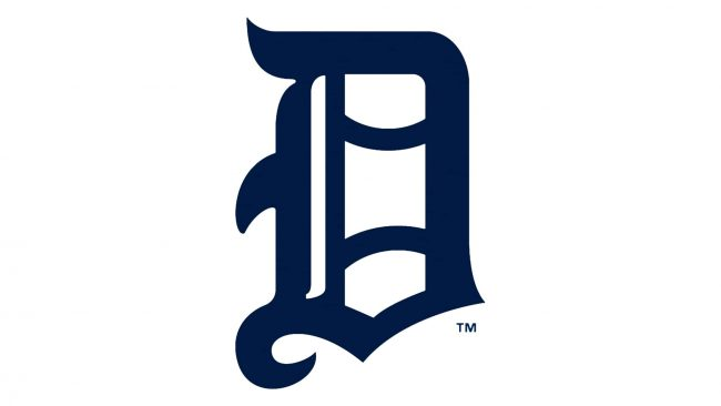 Detroit Tigers Logotipo 1905-1907