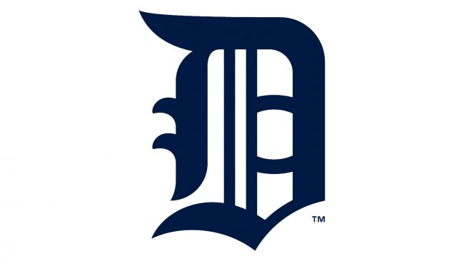 Detroit Tigers Logotipo 1908-1913