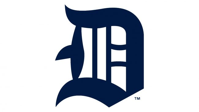 Detroit Tigers Logotipo 1914-1915