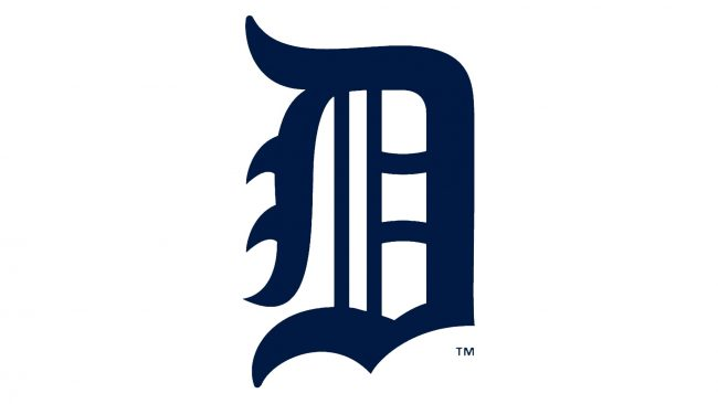 Detroit Tigers Logotipo 1921-1924