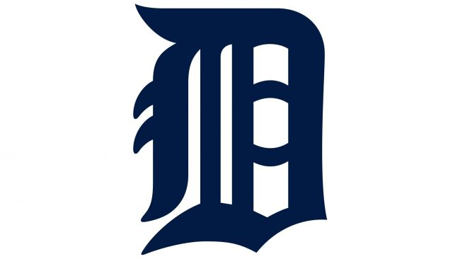Detroit Tigers Logotipo 1934-1956