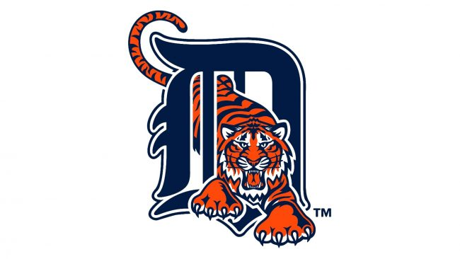 Detroit Tigers Logotipo 1994-2005