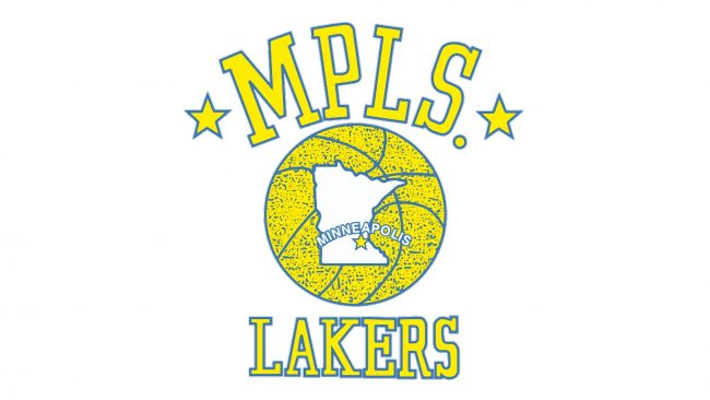 Minneapolis Lakers Logotipo 1948-1960