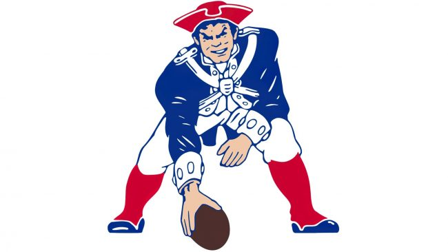New England Patriots Logotipo 1972-1988