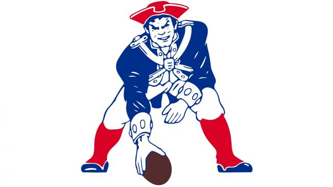 New England Patriots Logotipo 1989-1992