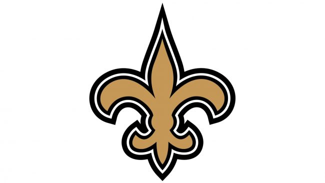 New Orleans Saints Logotipo 2002-2011