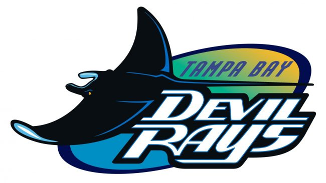 Tampa Bay Devil Rays Logotipo 1998-2000