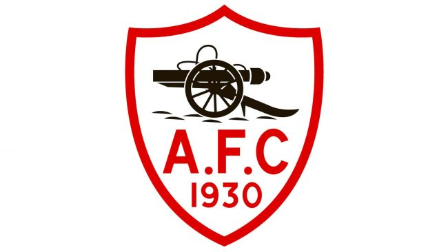 Arsenal Logo 1930-1936