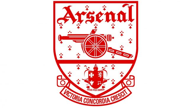 Arsenal Logo 1949-1994