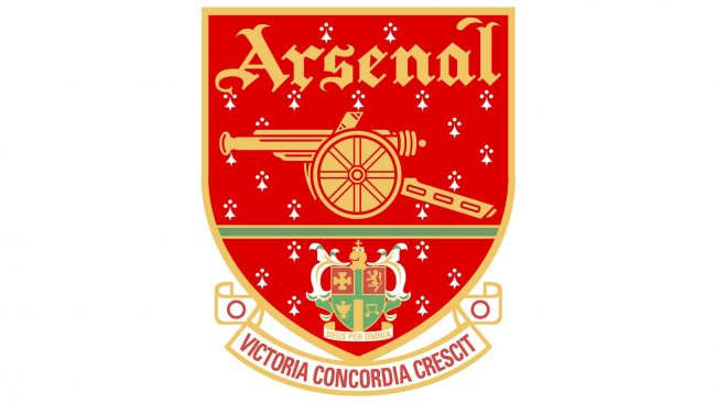 Arsenal Logo 2001-2002