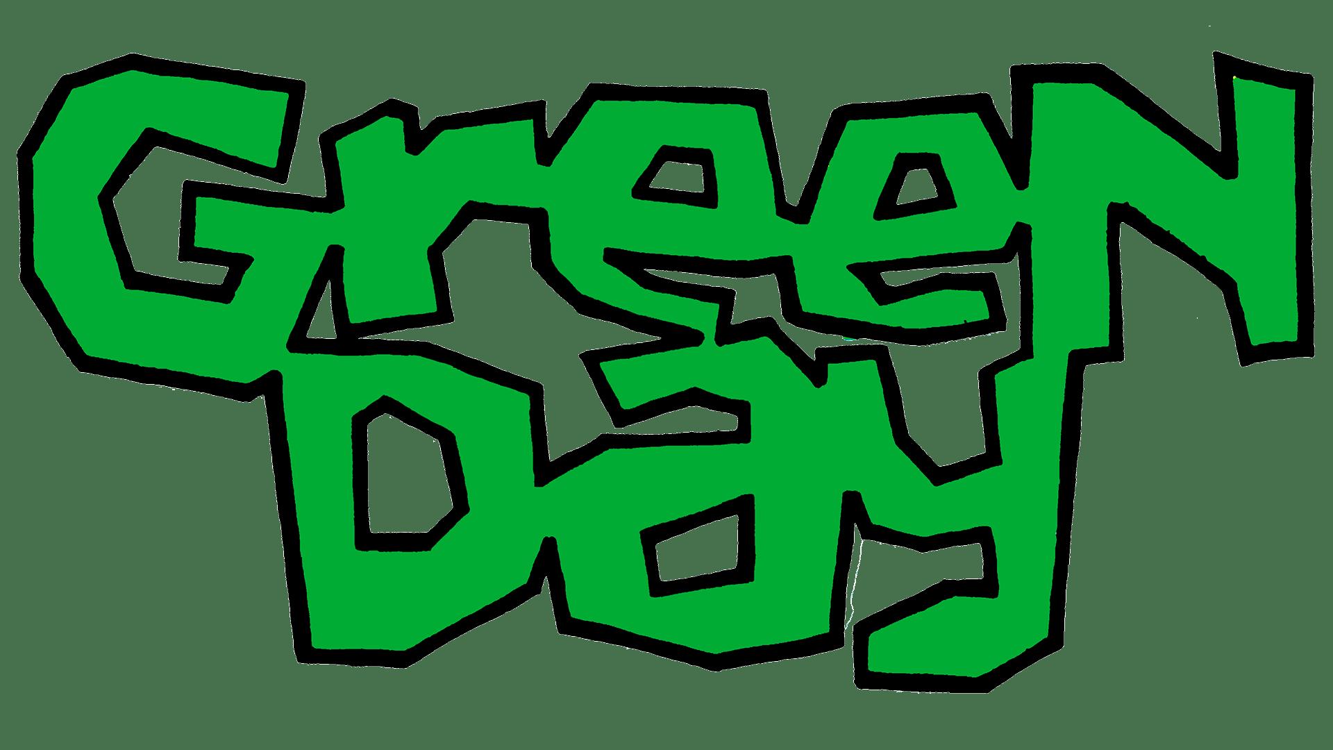 Green Day Logo   Significado, História e PNG
