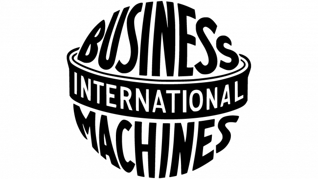International Business Machines Logo 1924-1946