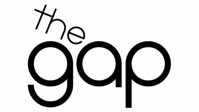 The Gap Logo 1969-1976