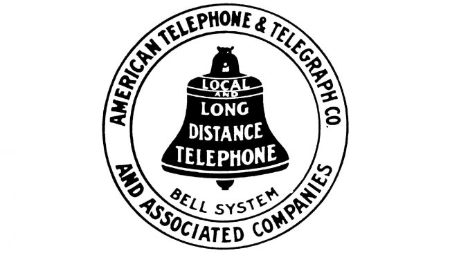 American Telephone and Telegraph Company Logo 1900-1921