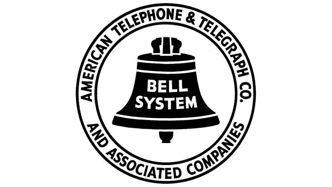 American Telephone and Telegraph Company Logo 1939-1964