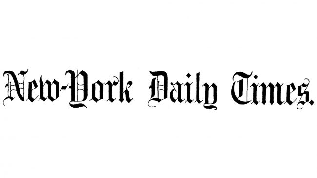 New-York Daily Times Logo 1851-1857