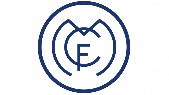 Real Madrid Logo 1908-1920