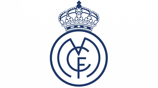 Real Madrid Logo 1920-1931