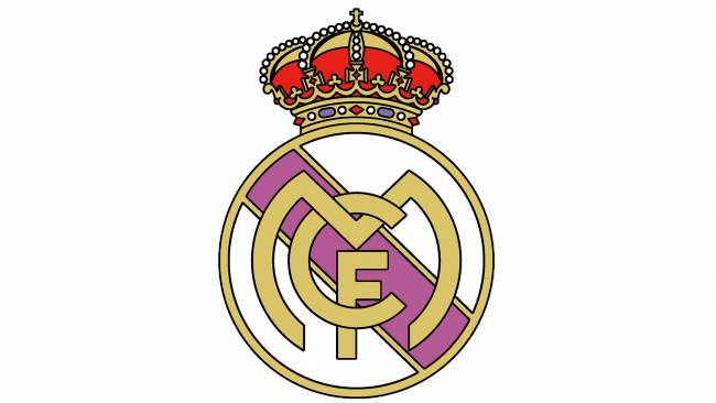 Real Madrid Logo 1941-1997