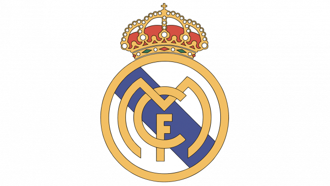Real Madrid Logo 1997-2001