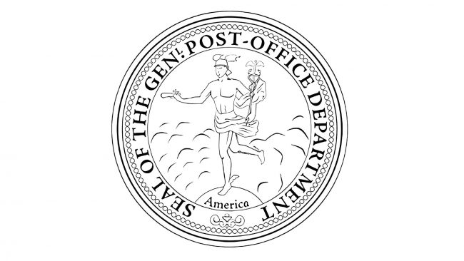 United States Post Office Department Logo 1829-1837