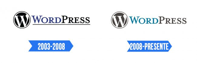 WordPress Logo Historia