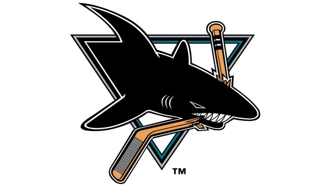 San Jose Sharks Logo 1991-1998