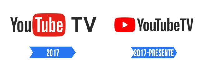 YouTube TV Logo Historia